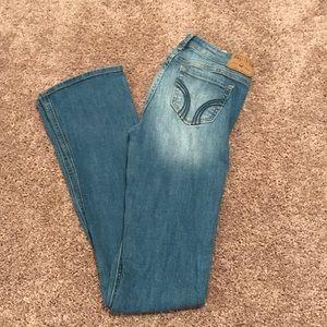 Light wash Bootcut Hollister Jeans